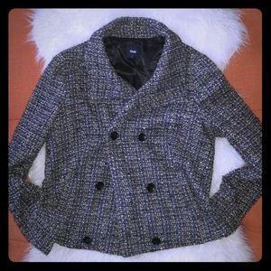 💼Gap Textured Tweed weave Coat